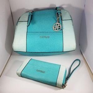 Guess handbag & wallet set